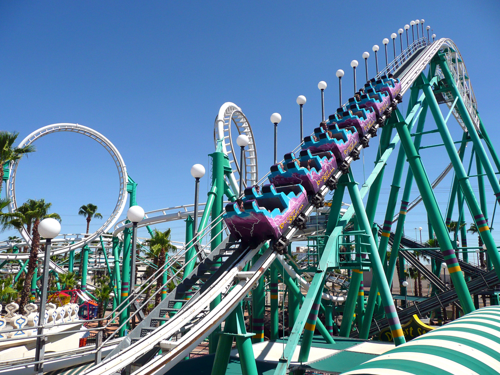 An analysis of the roller coasters in the united states of america